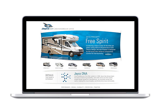 Jayco Zoom Website